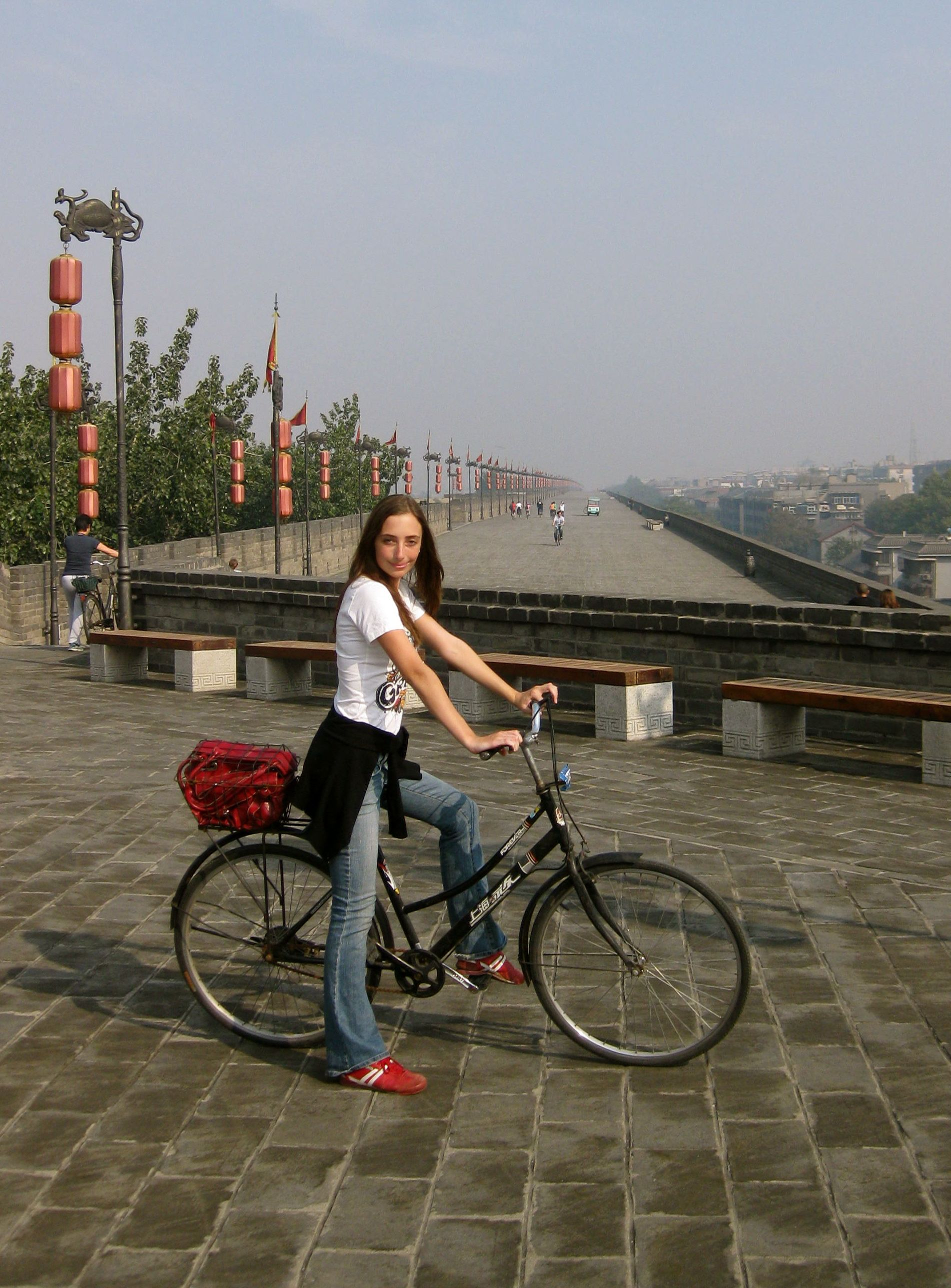 riding the xian wall