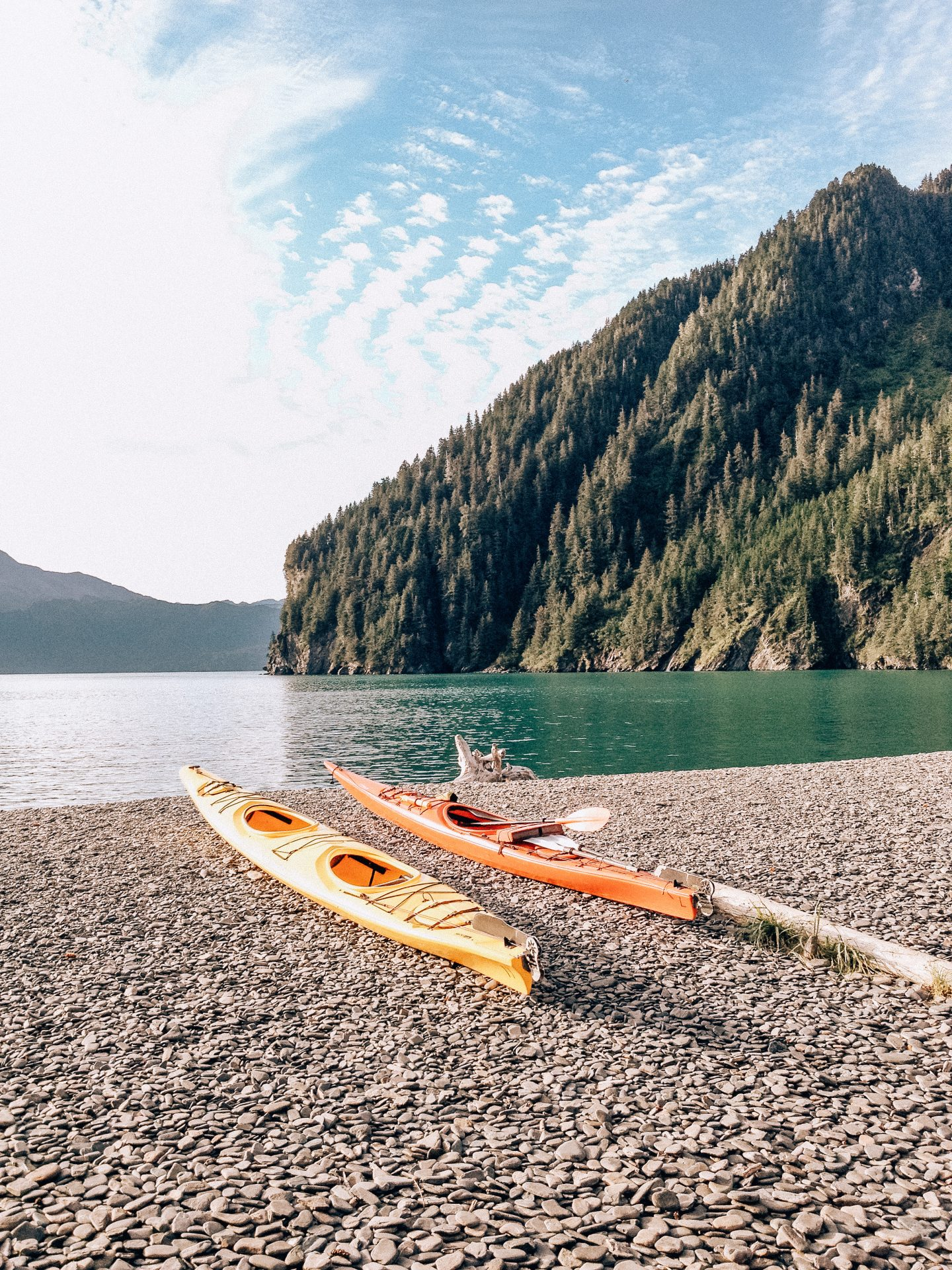 Kayak in Alaska
