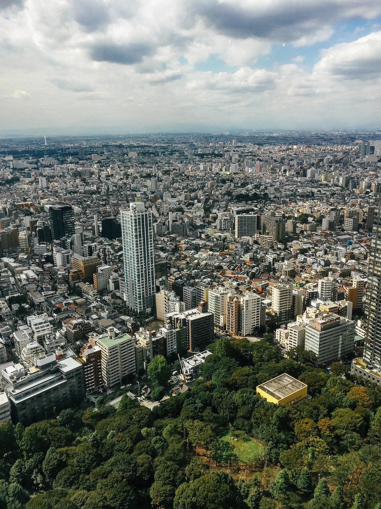 Best views in Tokyo