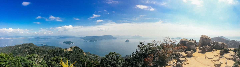 Views over Hiroshima