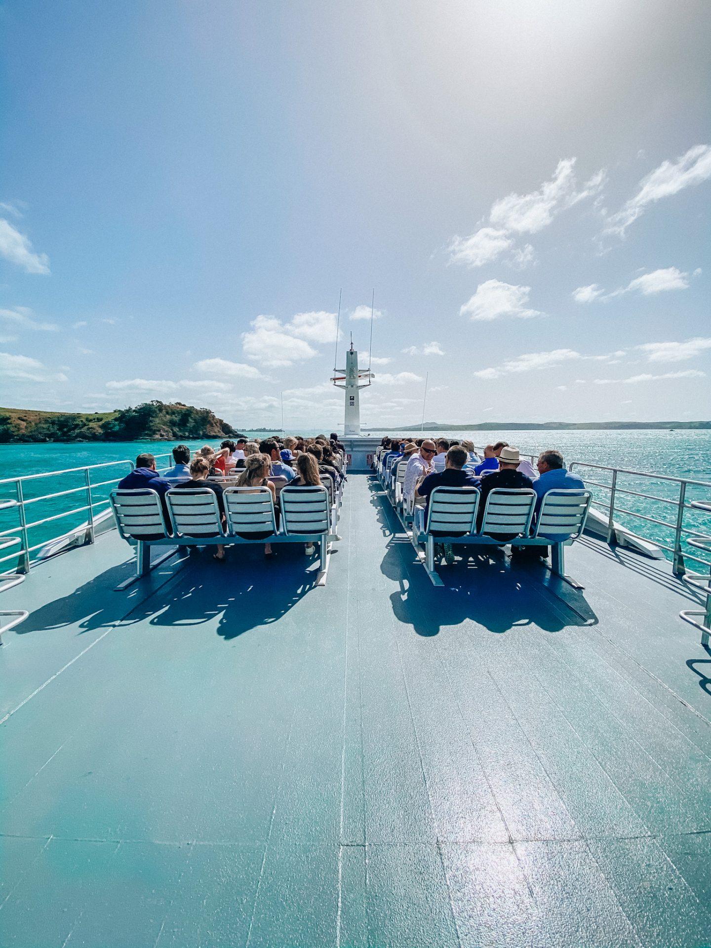 how to get to waiheke island