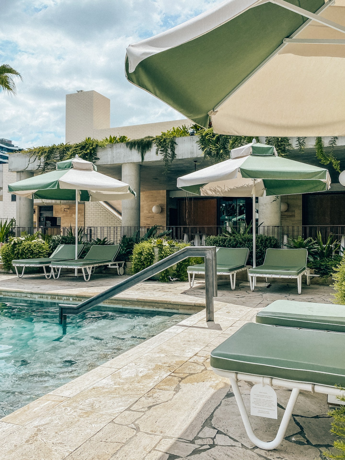 Calile Hotel pool